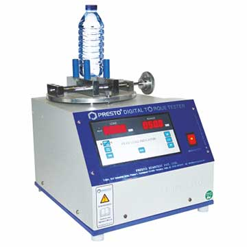 Test The Torque Of The Caps Of Pet Bottles With Torque Tester