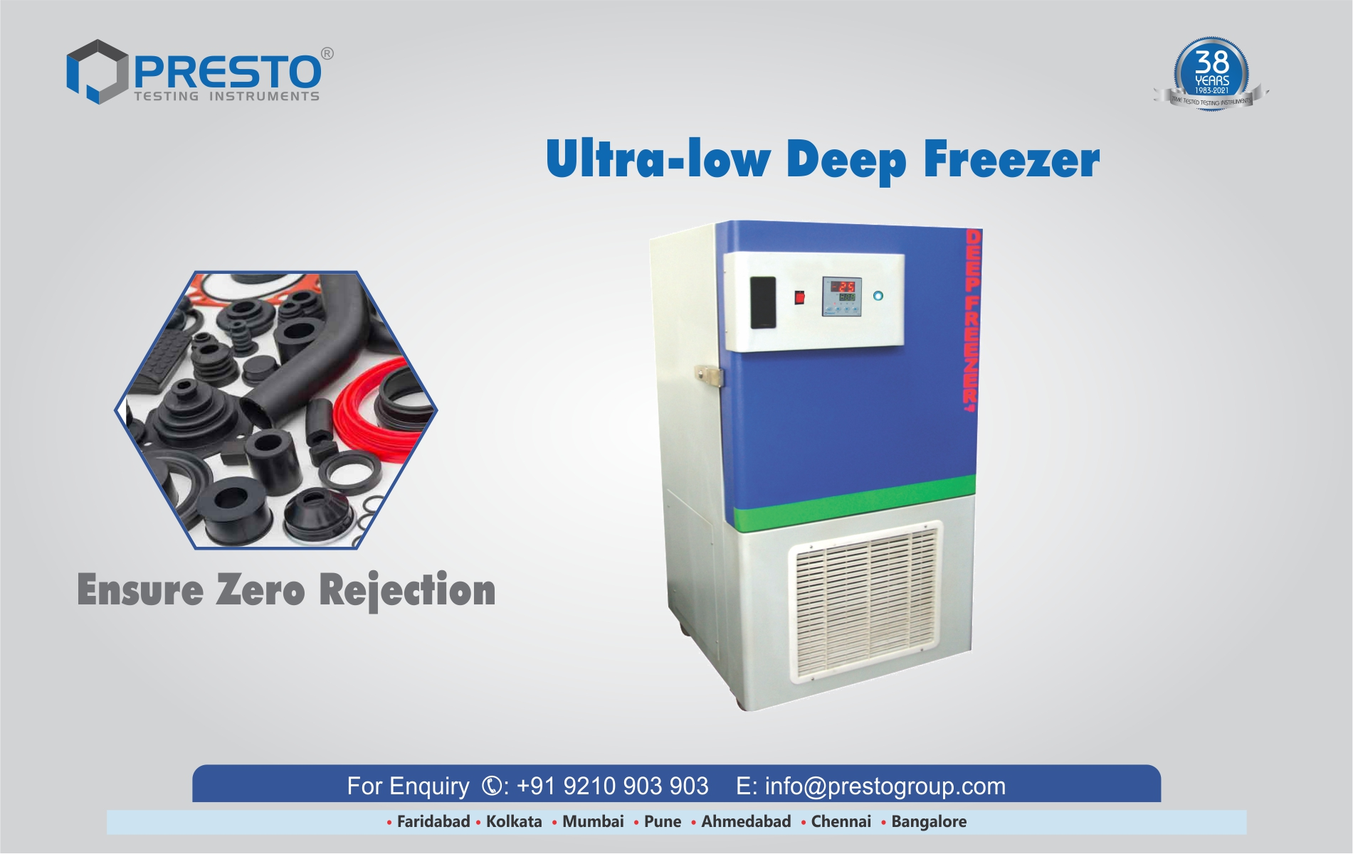 Ultra-low Deep freezer - Advanced Cold Storage Solution for