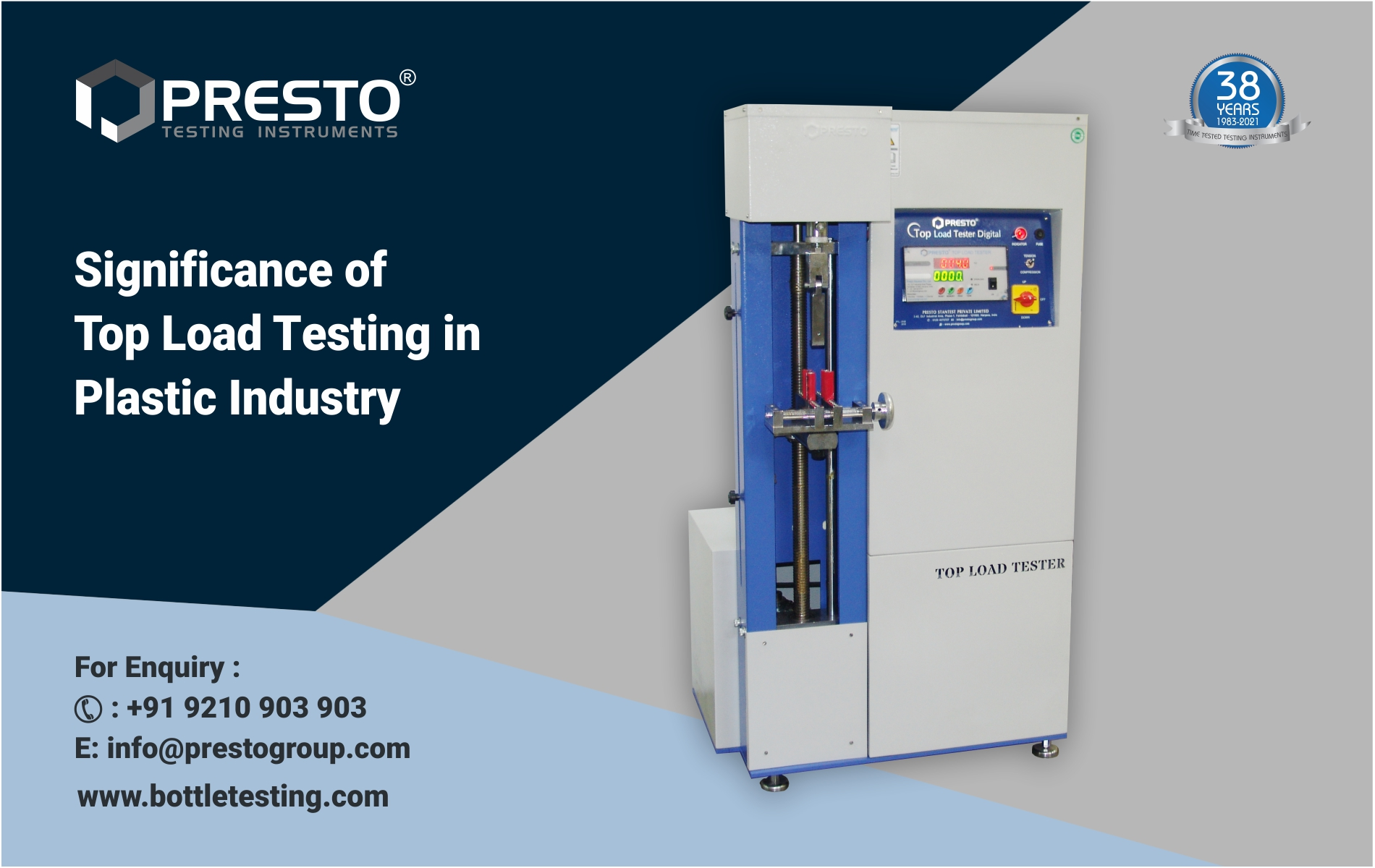 Significance of Top Load Testing in Plastic Industry