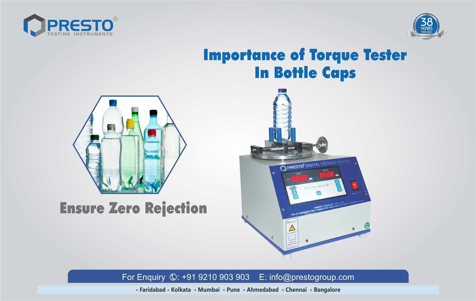 Importance of Torque Tester in Bottle Caps