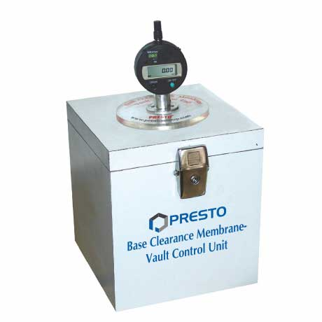 Base Clearance Membrane Vault Control Unit